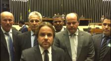 lideranças da região em brasília